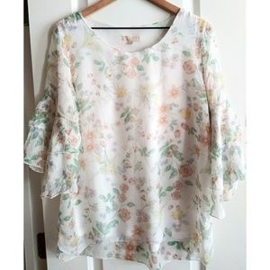 Guisy Made In Italy Silk Blouse!